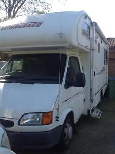 REDUCED $35000 AS IS.  rv six berth car licence