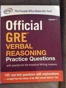 Official guide to the GRE revised general test.