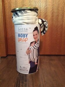 Moby wrap, baby carrier 8-35 lbs