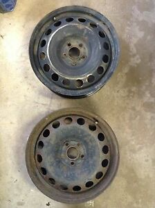"""16"""" steel rims for VW and other makes"""