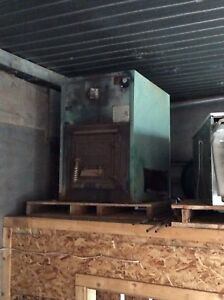 Commercial wood stove