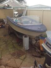 13 foot speed boat with trailer Burnie Burnie Area Preview