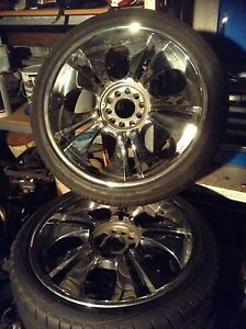 """20"""" Mag rims fitted with new tyres Eden Hill Bassendean Area Preview"""