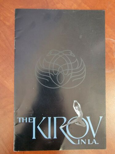 The Kirov Ballet 1992 Program