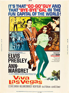 ELVIS-PRESLEY-VIVA-LAS-VEGAS-HIGH-QUALITY-VINTAGE-MOVIE-MUSIC-POSTER
