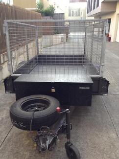 8x5 High Side Trailer for HIRE