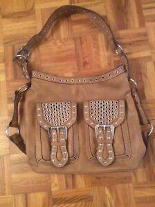 Nine West tan purse