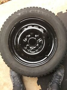 Nissan winter tires 4 bolt pattern like brand new