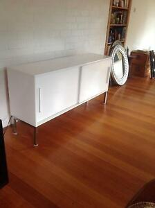 White high gloss buffet. Great condition. Beaumaris Bayside Area Preview