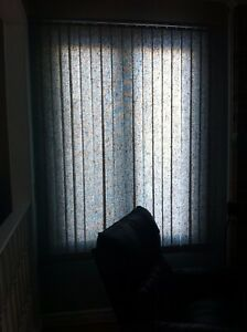 Two Vertical Levolor Blinds