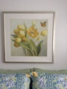 TULIP AND BUTTERFLY PICTURE