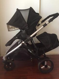 Strider Plus double stroller w 2nd seat.  Free delivery.