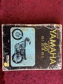 Yamaha XS-1,  XS650 Manual