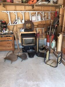 ENVIRON WOOD STOVE w/ accessories