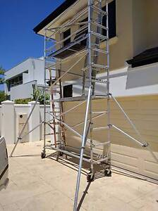 Aluminium mobile scaffold tower for hire Shelley Canning Area Preview