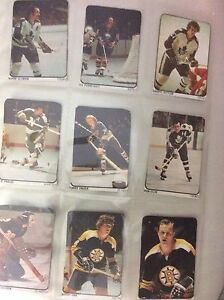 Cartes de Hockey Lipton 1974-1975 fullset 50 cartes