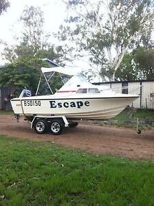 Seafarer Ventura 5.2 halfcab similar to Haines hunter glass 17 ft Biloela Banana Area Preview