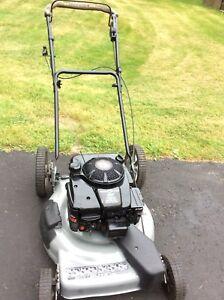 Used self propelled gas lawnmower