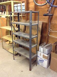 2 Steel Shelving Units