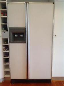 Genuine Amana Twin Door Side by Side Fridge Freezer Grays Point Sutherland Area Preview