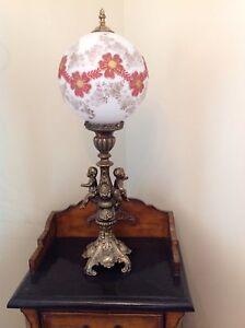 Lampe antique en brass laiton impeccable