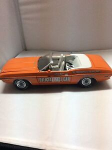 1971 Die Cast Dodge Charger Pace Car Indy 500 1:18 - New Price Peterborough Peterborough Area image 1