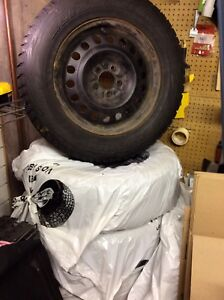 Winter tire and rims P245/65/17