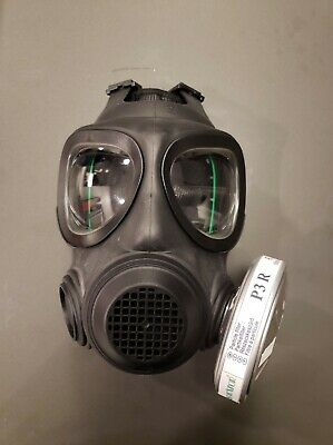 Full Face Reusable A4 Air Filtrationgas Mask With Nbc Particle Filter