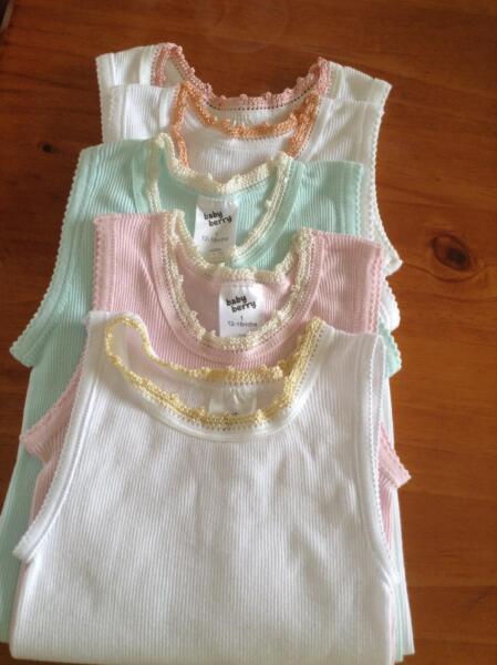 Hand Crocheted Silk Edge Singlets Baby Clothing Gumtree