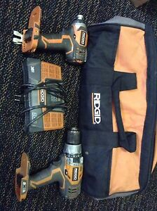 Ridgid X4 Cordless Drills with bag and charger!