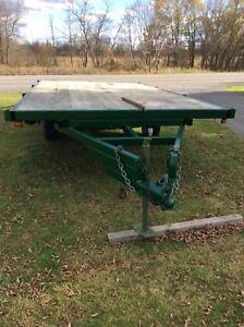 Tandem utility trailer (7500 lbs) (7.5' X 14')