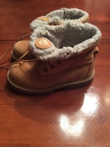 Timberlands-kids size 10
