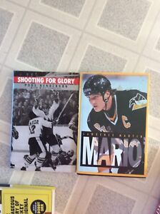 Lots of hockey books for sale $ 5 each