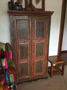 Indian painted cabinet Eastern Heights Ipswich City Preview