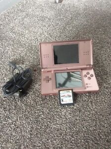 Nintendo DS and mariokart game
