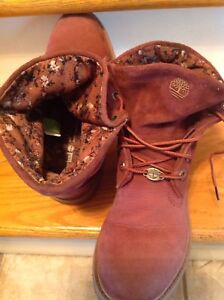Timberland ankle booties (size 8W)