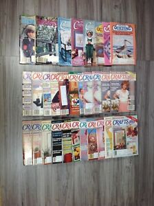 26 vintage craft magazines - read more info