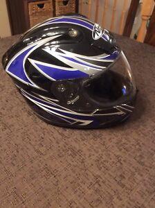 Nitro racing motorcycle helmet