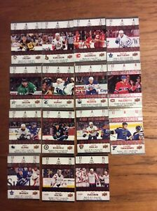 Tim Hortons cartes de hockey 2017-2018 série Game Day Action