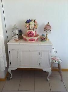 1920's Antique Vintage Shabby Chic French Provincial Hall Table Gorokan Wyong Area Preview