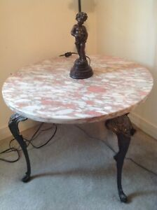 Marble End Tables