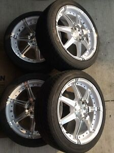 Rims and tires 4x100