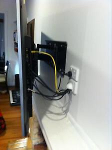 TV WALL BRACKET MOUNTING ANTENNA INSTALLATION Caroline Springs Melton Area Preview