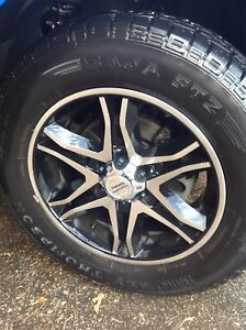 F-150 Mickey Thompson tires with rims