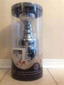 NHL Stanley Cup Hot Air Popcorn Popper