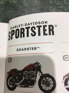 Wanted to buy Harley roadster sportster 2016 model