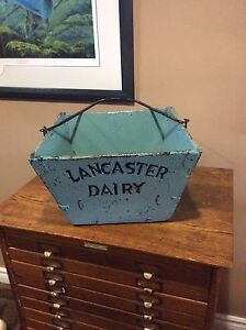 Antique scale box