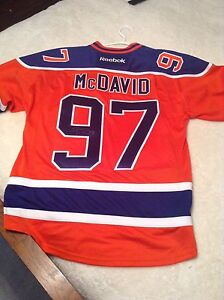 Autographed McDavid Oilers Jersey