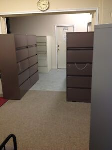 LOTS OF LATERAL FILE CABINETS - 2 / 3 / 4 / 5 DRAWER UNITS