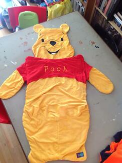 Winnie the Pooh small toddler sleeping bag Quakers Hill Blacktown Area Preview